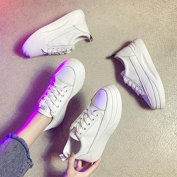 Tatyana鞋子女学生韩版厚底增高休闲女鞋