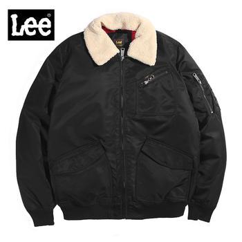 Lee男士加绒夹克当季新款防寒保暖男士休闲外套L86UMFEM