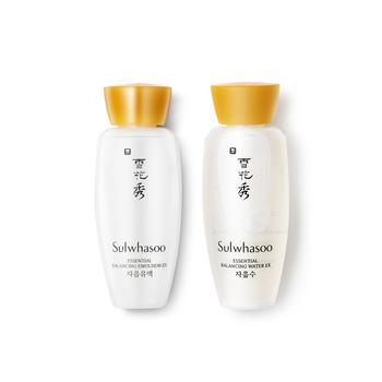 韩国•雪花秀滋盈肌本组套装(平衡/润颜水+平衡/润颜乳) 30ml*2