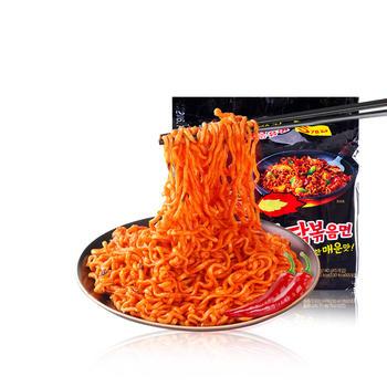 韩国三养超辣火鸡面5包辣鸡面辣鸡肉味拌面速食拌面