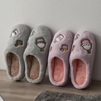 亲子款棉拖 秋冬季儿童防滑男女保暖居家棉拖鞋