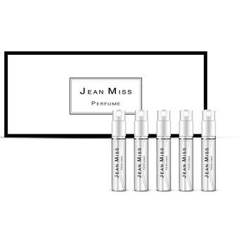 小Q版沙龙中性香水样5件套 礼盒装女士香水3ml试用装