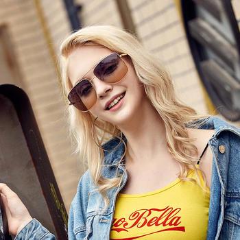 威古氏墨镜女新款防紫外线圆脸大框网红眼镜太阳镜