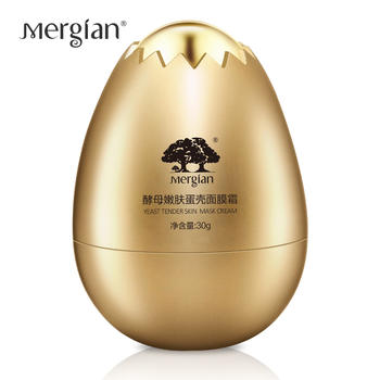 Mergian/美肌颜酵母嫩肤蛋壳面膜霜30g