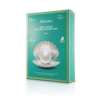 JMsolution珍珠面膜海洋三部曲韩国面膜女补水保湿