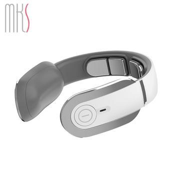 MKS/美克斯颈椎按摩器颈部按摩仪多功能脖子振动脉冲家用护颈仪肩