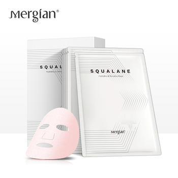 Mergian/美肌颜深海鱼角鲨烷舒缓补水面膜5片