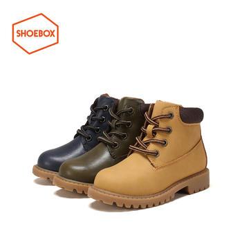 shoebox/鞋柜加绒保暖耐磨马丁靴