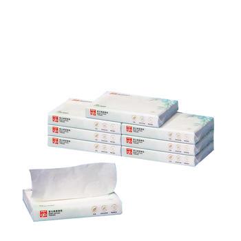 gb好孩子婴儿柔乳霜保湿面纸非湿纸巾小包40抽8包