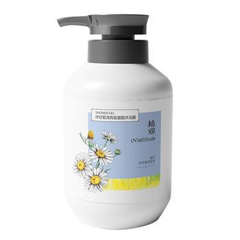 植观氨基酸洋甘菊清爽沐浴露500g植物留香美肌沐浴