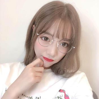威古氏时尚眼镜防蓝光多边形全框个性平光眼镜手机电脑护目眼镜