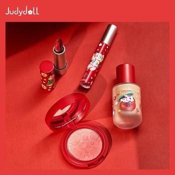 judydoll橘朵鼠年限定腮红眼影唇釉口红唇膏粉底液新年
