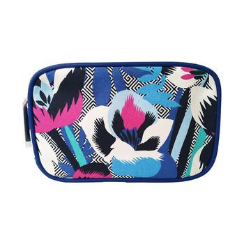 雅诗兰黛化妆包-圣托里尼限定款 简约便携大容量手拿包女包