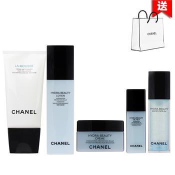 Chanel香奈儿山茶花护肤化妆品套装补水保湿 五件套装(干性肌肤)