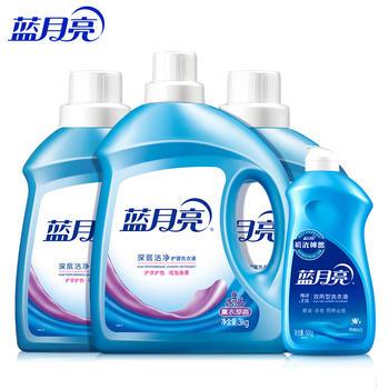 蓝月亮洗衣液全瓶组合家庭装15斤