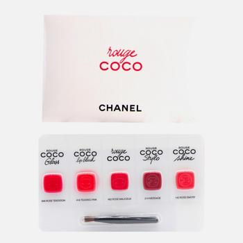香奈儿(Chanel) 可可小姐唇颊5色试用装 5*0.22g