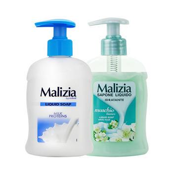 玛莉吉亚洗手液(牛奶花香型)300ml+(白麝香香型)300ml