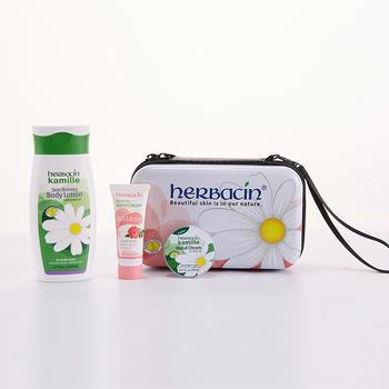 贺本清herbacin小甘菊身体乳护手霜尊享礼盒-A