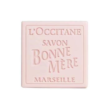 L'occitane/欧舒丹玫瑰妈妈香皂 100g 温和清洁 去角质嫩肤 香氛皂