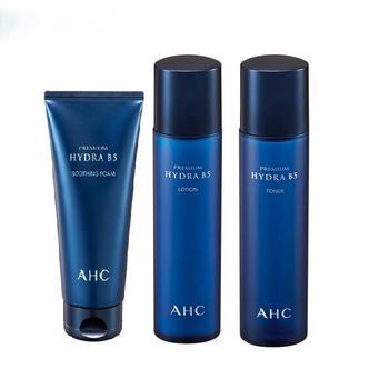 AHC爱和纯B5玻尿酸水合三件套 洗面奶爽肤水乳液