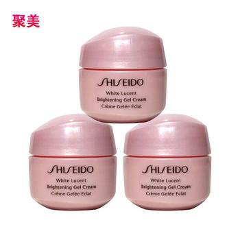 【聚美直发】资生堂光透耀白凝霜15ml*3 Shiseido