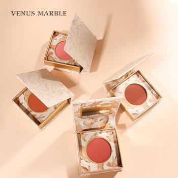 VENUS MARBLE单色腮红胭脂盘自然裸妆眼影一体晒红女多巴胺猫腮红