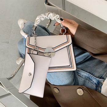 INME小包包女包流行新款潮时尚简约链条单肩斜挎包网红百搭小方包