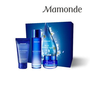 梦妆蓝朋友舒安礼盒 蓝甘菊精萃,有效舒缓肌肤,强化屏障