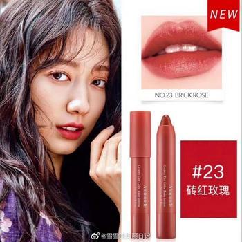 Mamonde韩国梦妆花心绒唇膏笔2.5g 23#砖红玫瑰