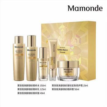 梦妆Mamonde菁致视黄醇御龄礼盒保湿抗皱紧致韩国原装进口